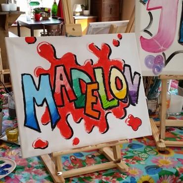 naam schilderen